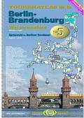 Titelblatt des Tourenatlas TA5 Berlin - Brandenburg