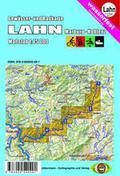 Titelblatt Gewässerkarte Lahn