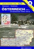 Titelblatt der Wassersport-Wanderkarte Österreich