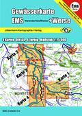 Titelblatt der Gewässerkarte Ems