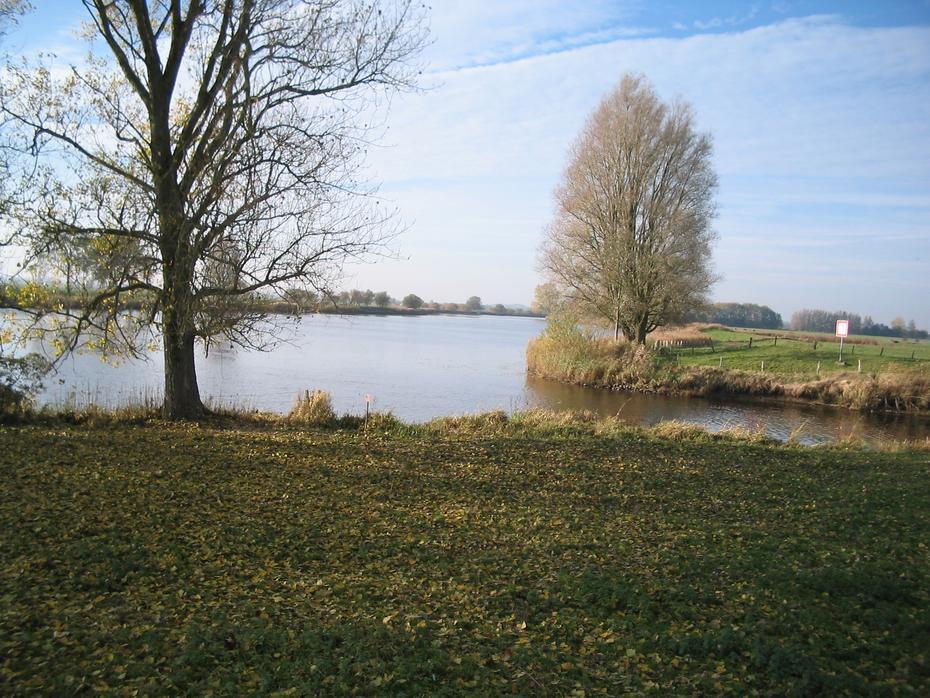 Sorge - Mündung bei Hohner Fähre, Eider- km 36,7