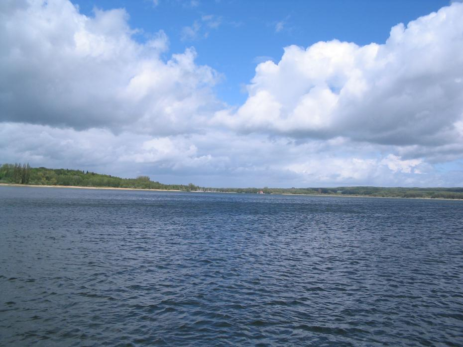 Ratzeburger See, Blick von Groß Sarau nach Rothenhusen
