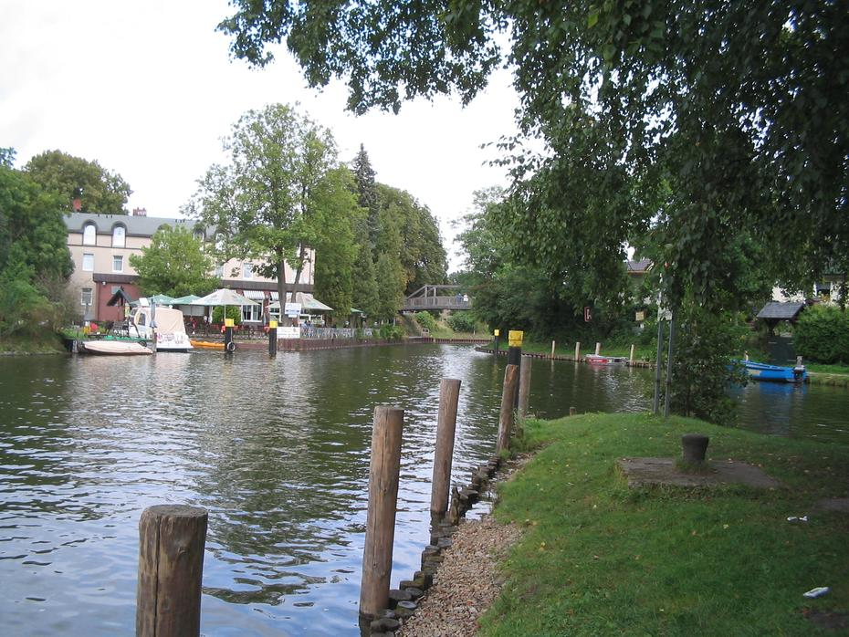 an der Canower Schleuse