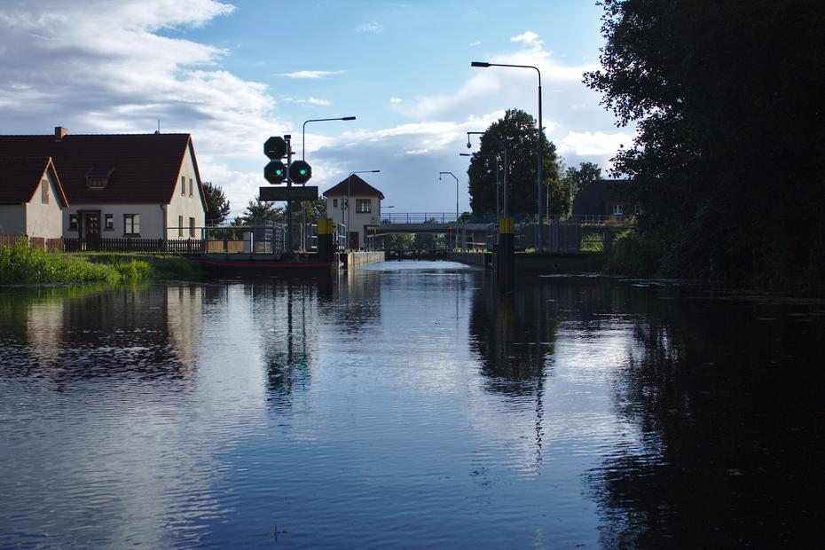 Schleuse Neustadt-Glewe