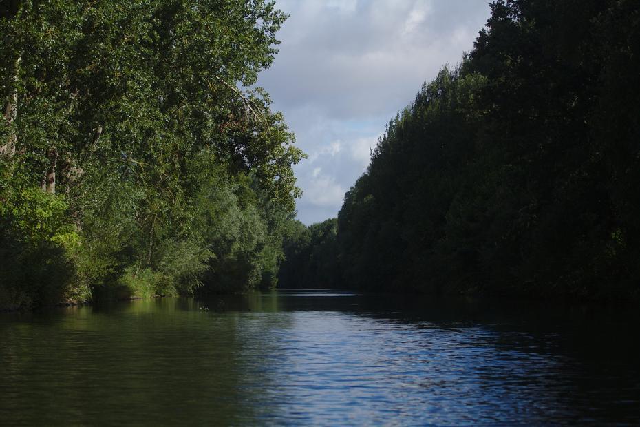 Müritz-Elde-Wasserstraße unterhalb von Plau