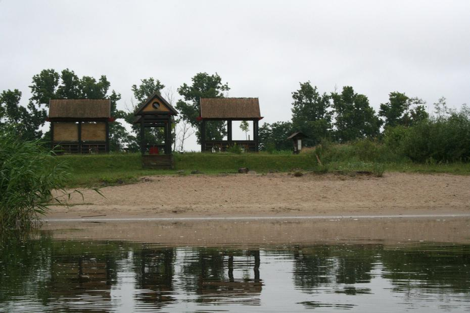 Havel: Pausenplatz in Bahnitz