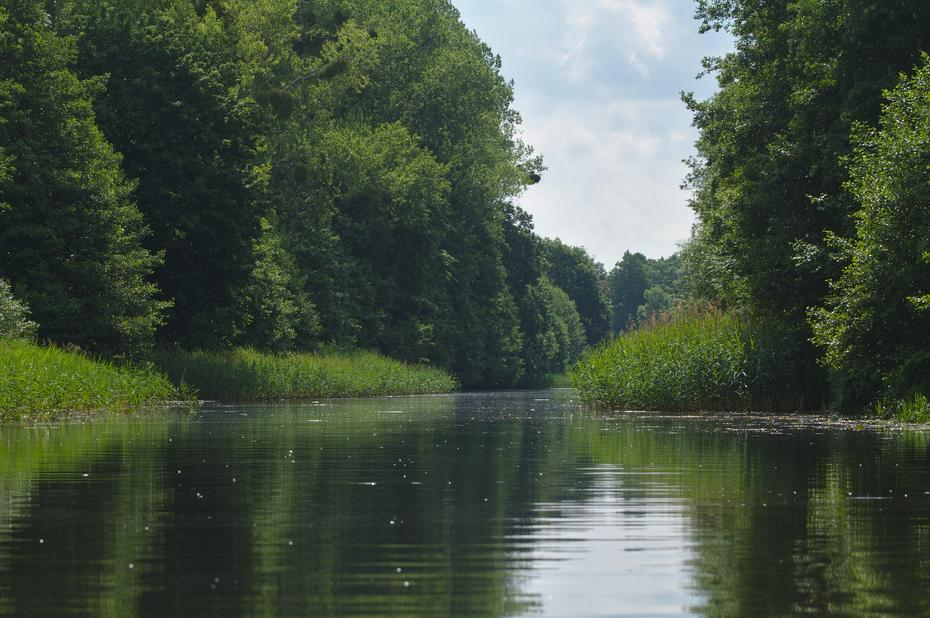 Finowkanal bei Ruhlsdorf