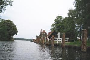 Wakenitz-Mündung, Rothenhusener Fährhaus