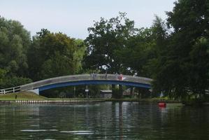 """Das """"Blaue Wunder"""", Brücke am Beginn der Tollense"""