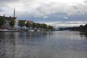 Museumshafen in Lübeck an der Trave
