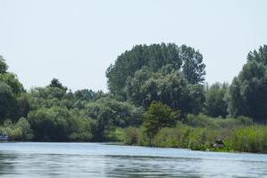 Siedlung nahe Kanalufer