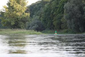 Die Oder, Einmündung des Brieskow-Kanals in die Oder