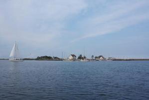 Schlei, Blick auf Hafen Schleimünde