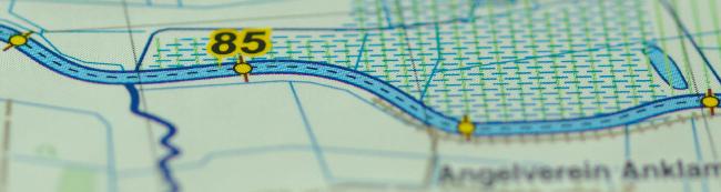 Tourenatlas TA6 - Kilometrierung