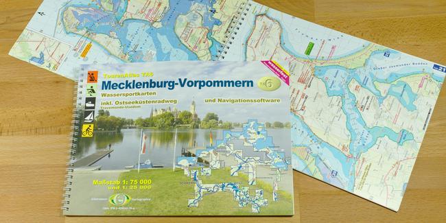Mecklenburgische Seenplatte Karte Pdf.Tourenatlas Ta6