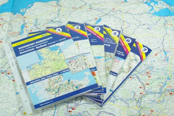 kanutouren deutschland karte Gewässerkarten   FlussInfo für Kanufahrer
